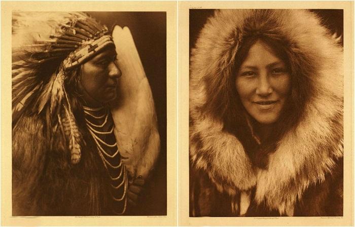 Коренные индейцы всей Северной Америки.