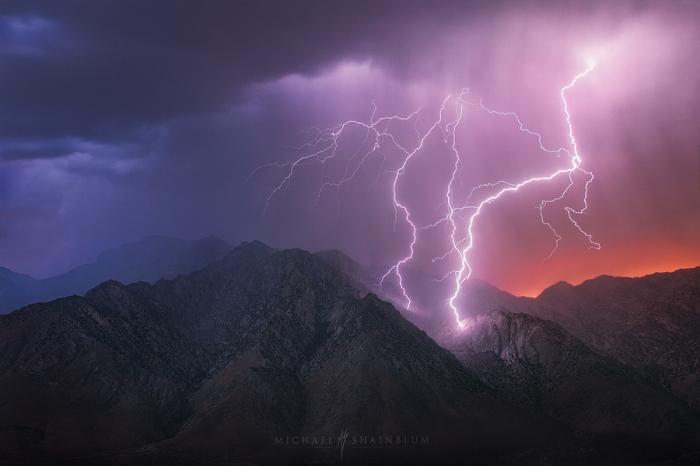 Громовые горы. Автор фотографии: Майкл Шайнблум.
