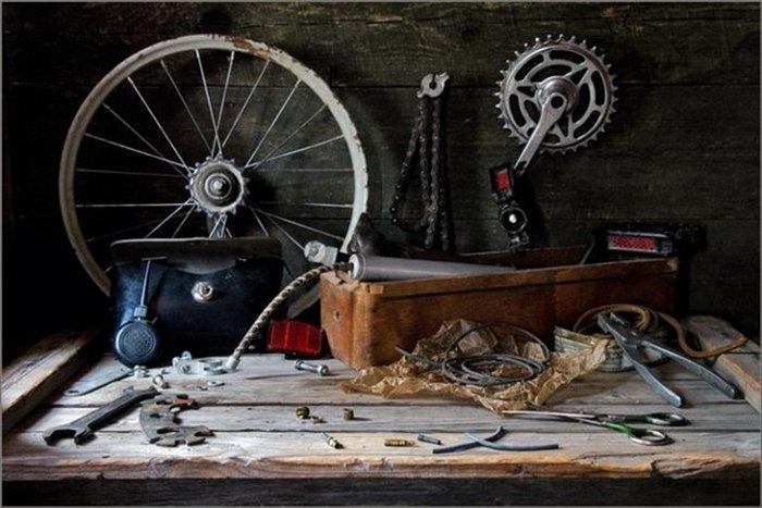 Ремонт велосипеда в домашних условиях.