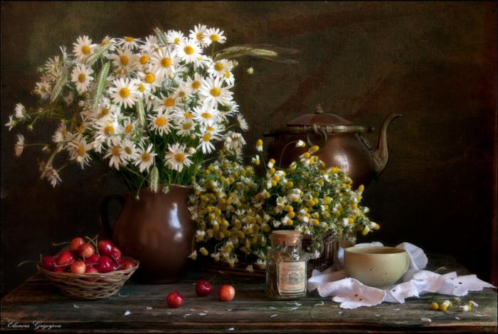 Чай с ромашкой. Автор фотографии: Eleonora Grigorjeva.
