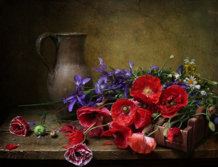 Цветочная композиция. Автор фотографии: Марина Филатова.