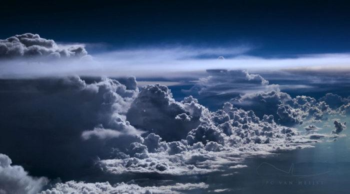 Грозовые облака.