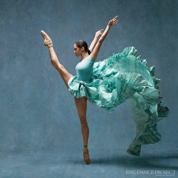 Американская прима-балерина Misty Copeland.
