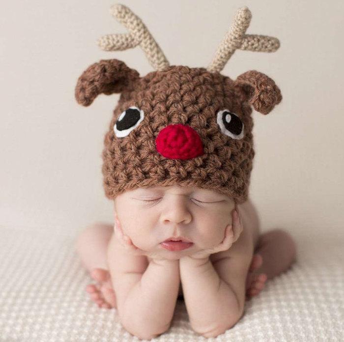 А вот и я *новогодний оленёнок*.