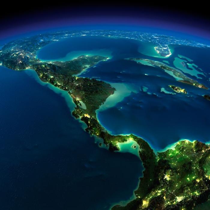 Потрясающая фотография из космоса.