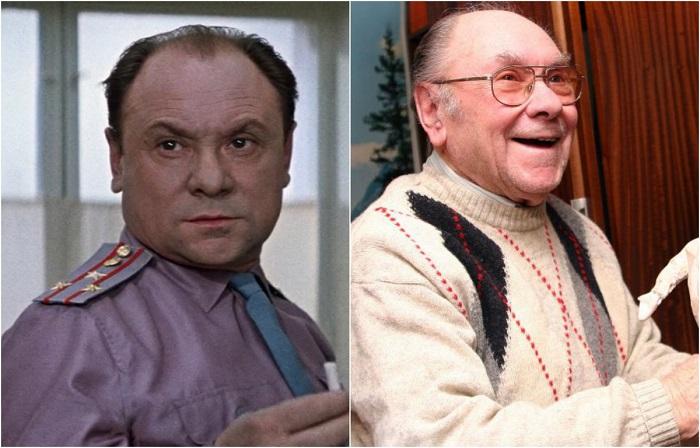 Советский и российский актёр театра и кино, народный артист СССР, сыграл в кино более 70 ролей.