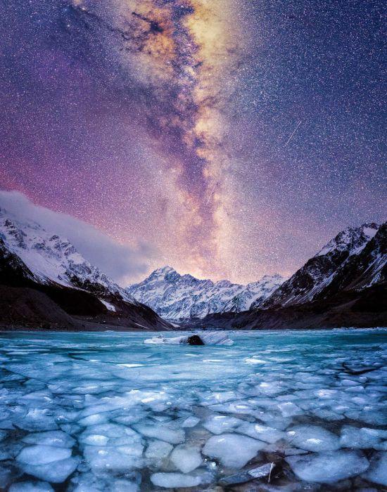Высочайшая точка Новой Зеландии.