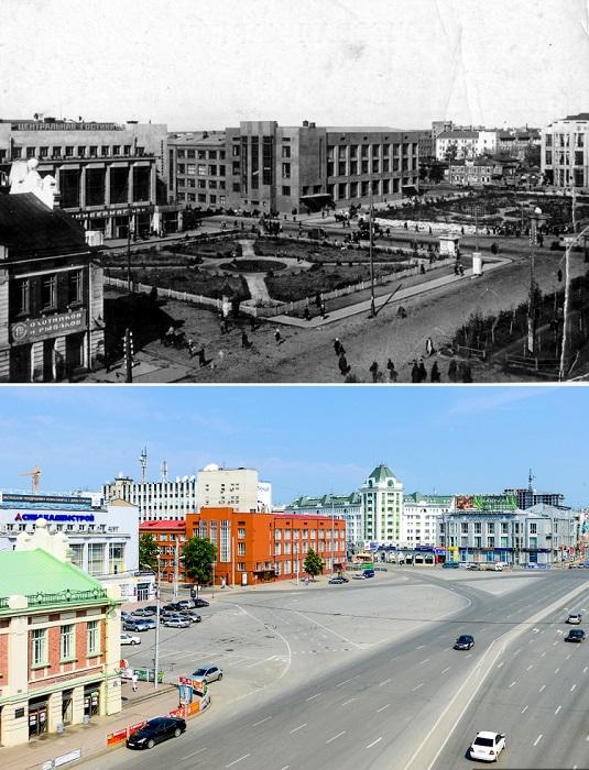 В начале 1930-х годов было построено гигантское здание Дома науки и творчества, будущего Оперного театра.