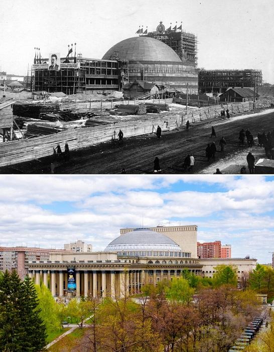 После реконструкции здание превратилось в элитный Театр оперы и балета.
