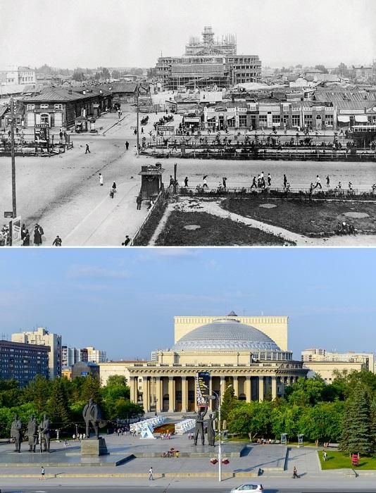 Здание Театра оперы и балета — одно из самых крупных в России и самое большое за Уралом.