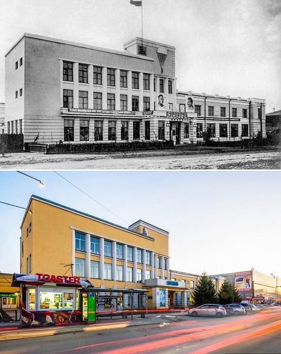 Сегодня здесь находится Новосибирское региональное отделение ДОСААФ.