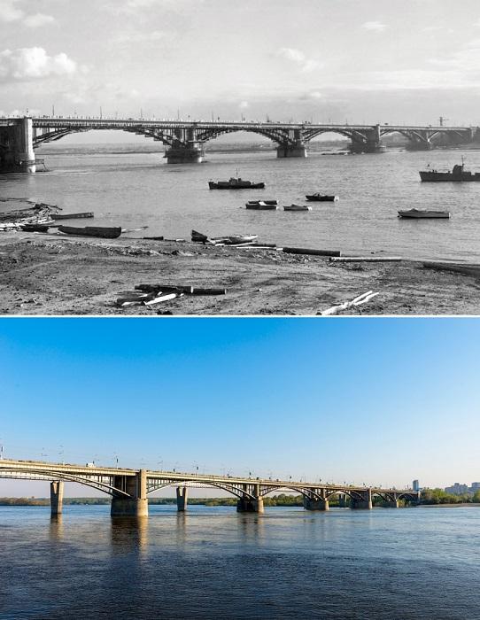 Ныне Октябрьский мост.