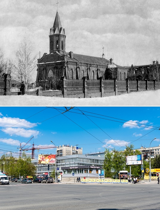 Здание снесено в начале 1960-х годов. На данный момент на этом месте расположено здание ЦУМа.