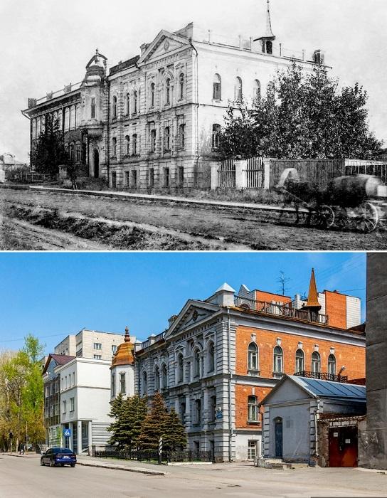 Отель «Метрополитен» на 14 номеров, был построен в 1905 году на улице Дворцовой.