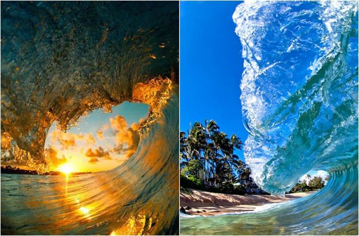 Ошеломляющие волны в фотографиях Кларка Литтла.