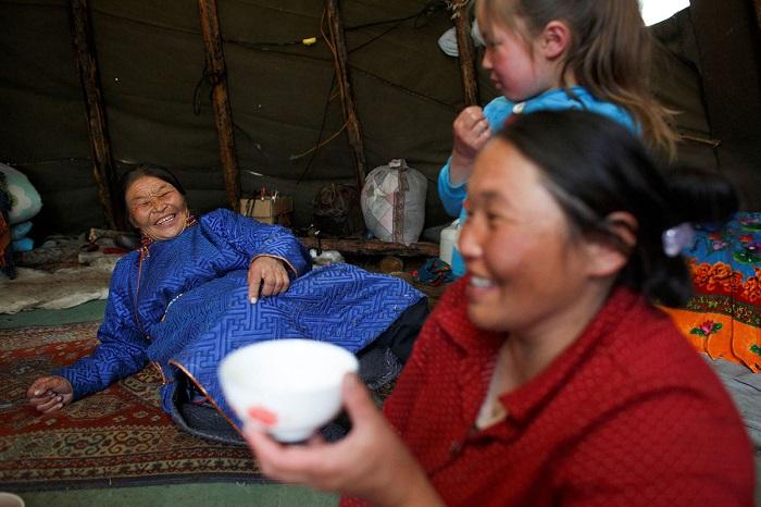 Чаепитие в Монголии широко распространенная традиция.