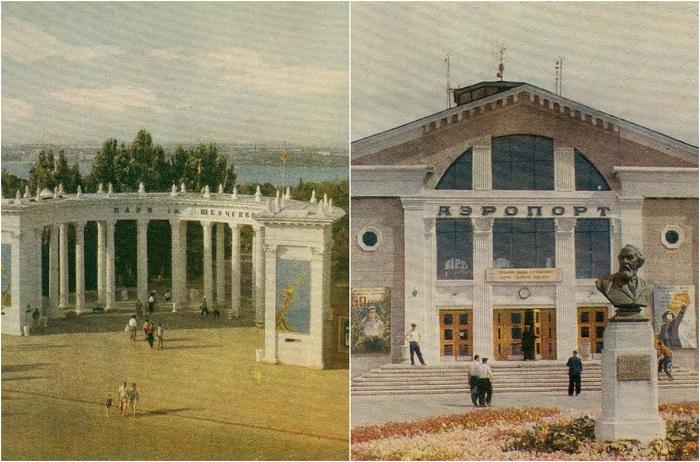 Колоритные фотографии Днепропетровская и его достопримечательностей в 1966 году.