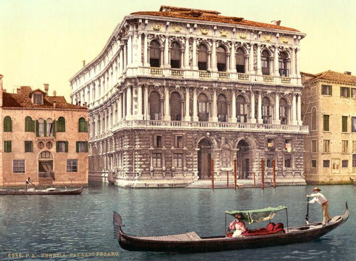 Художественный салон Венеции.