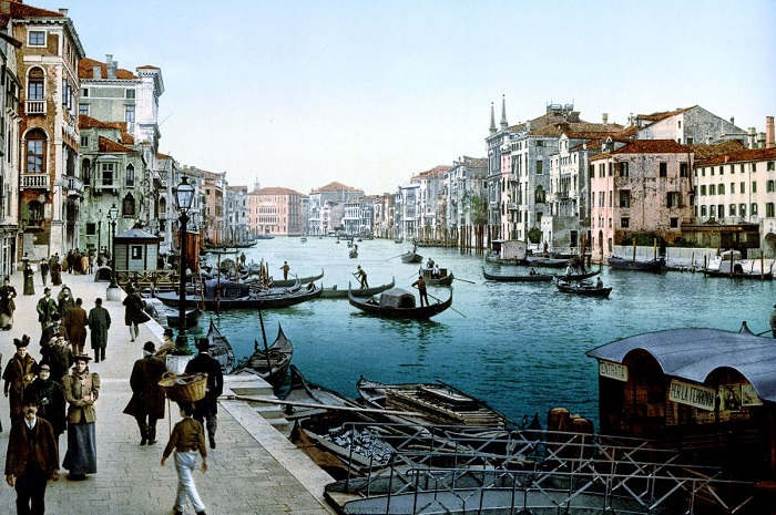 Нестареющая Венеция.