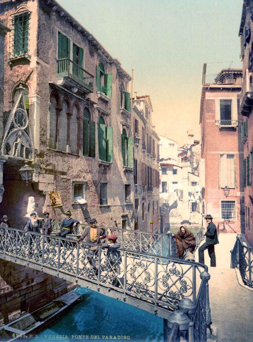 Венеция считается городом мостов и каналов.