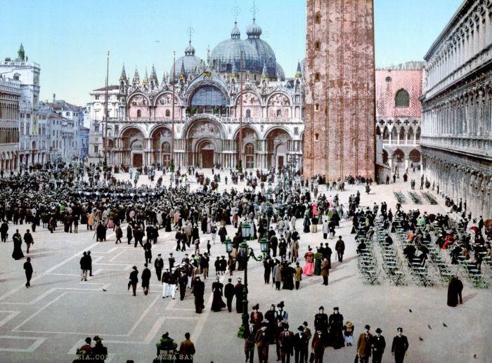 Концерт на площади Святого Марка.