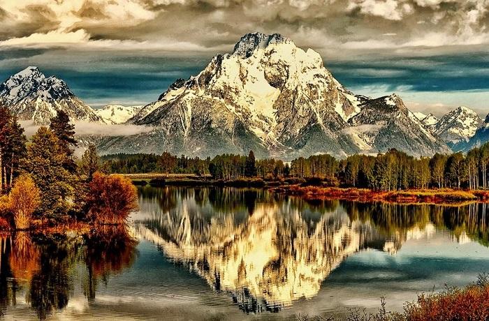 Прекрасные отражения красоты окружающего мира.