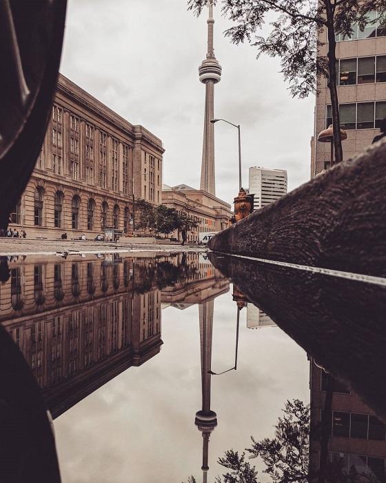 Многое мировые достопримечательности и обычные городские улицы предстали зрителям в совершенно другом виде.