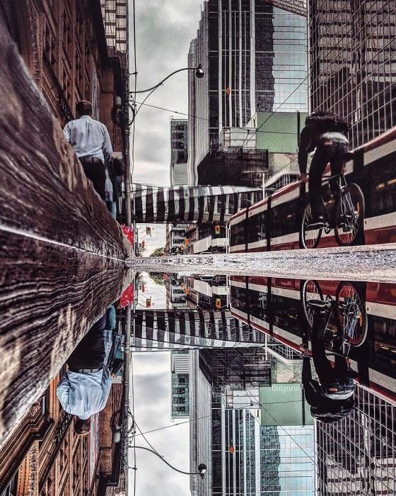Канадский фотограф очень любит прогуливаться после дождя, создавая впечатляющие снимки, которые вдохновляют других путешественников.