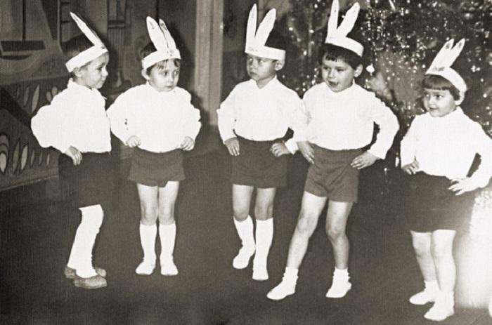 Мальчики становились бойкими «зайчиками».