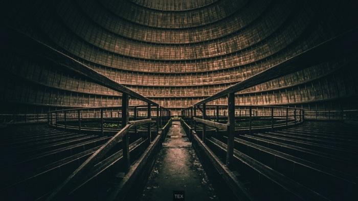 Заброшенная электростанция, Бельгия. Фотограф Tex Pictures.