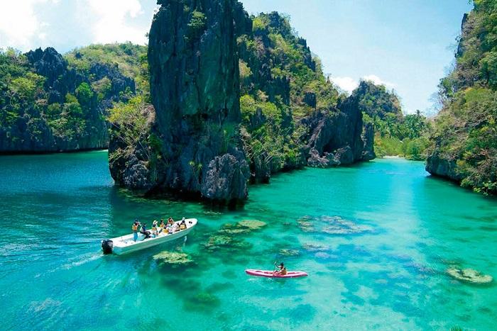 Остров Палаван - природный заповедник.