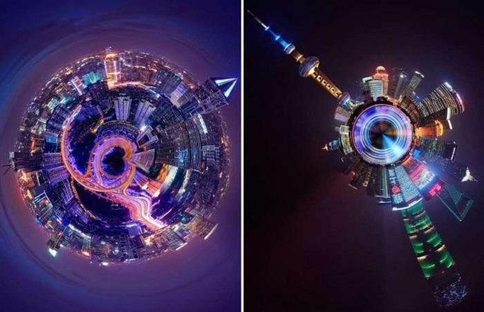 Один из самых крупных городов мира и крупнейший город Китая.