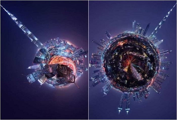 Панорамы самых известных городов в мире.