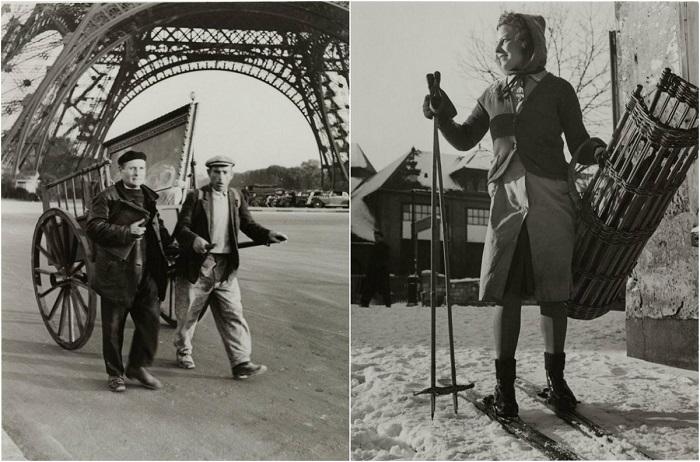 Париж в годы оккупации.