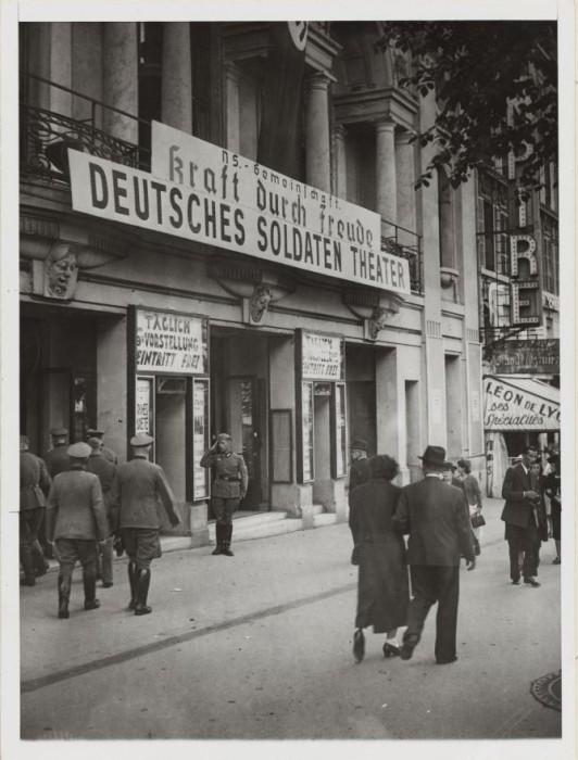 Театр для немецких солдат, Авеню де Ваграм, 39-41, 26 июля 1940 года.