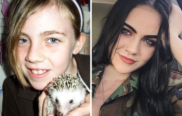 Фотографии людей, решивших немного улучшить свою внешность.