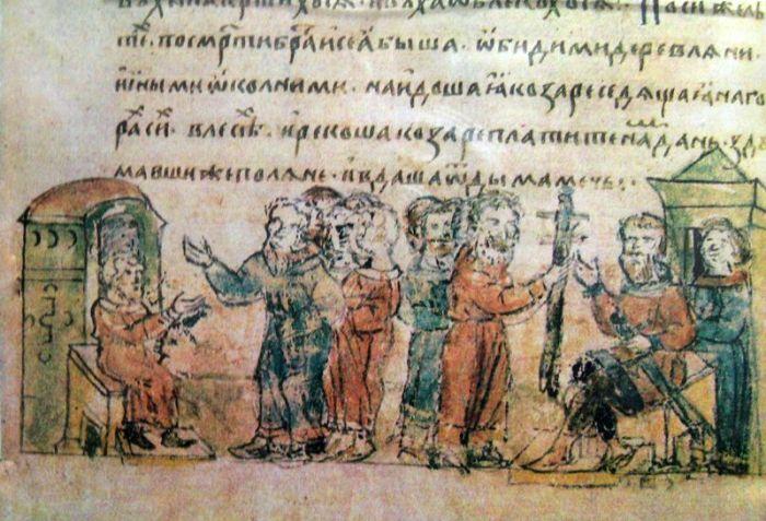 Средневековый тюркоязычный народ, живший первоначально в Восточном Предкавказье, создавший Хазарский каганат.