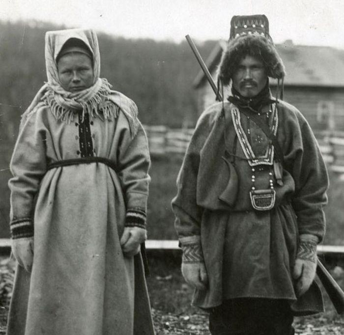 Один из древнейших существующих народов, происходящий от большой ветви первичных североевропейских народов.