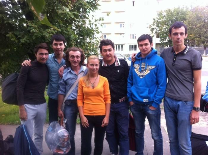 Команда КВН из города Астрахань.