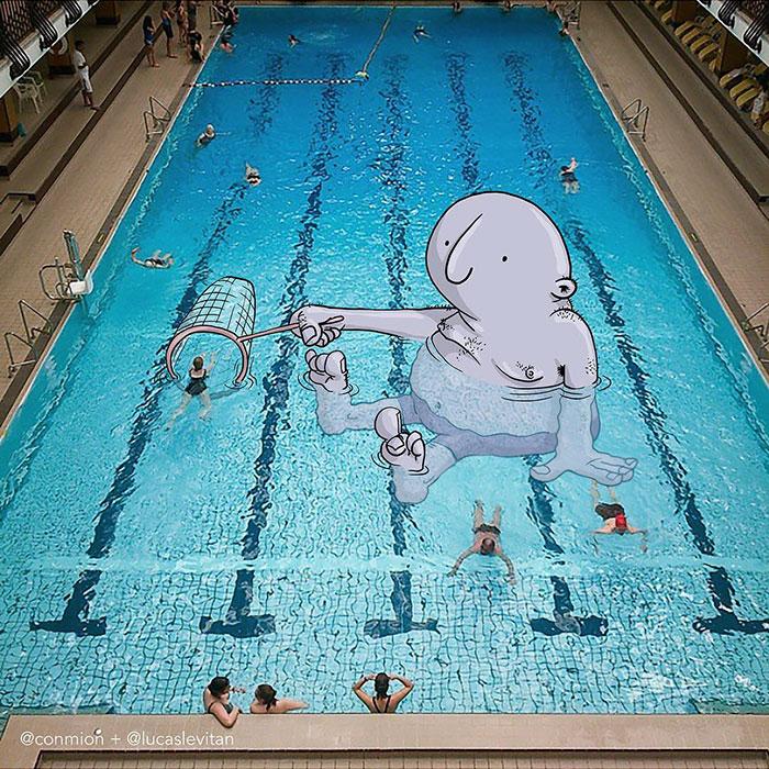 Когда пловцов много, нужно немного их выловить...