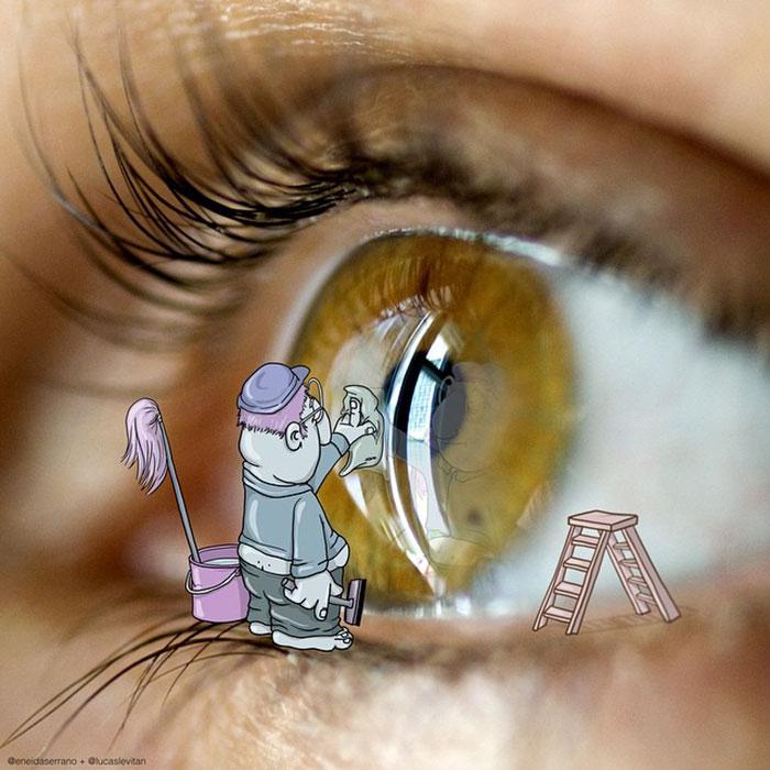 Правда ведь говорят, что глаза это душа человека.