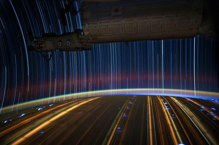 Снимок американского астронавта НАСА, по совместительству еще и фотографа Дональда Роя Петтиту (Don Pettit).