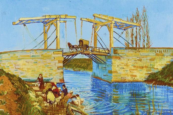 Картина нидерландского художника-постимпрессиониста Винсента Ван Гога. 1888 год.
