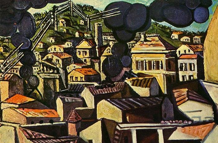Картина написана испанским художником Пабло Пикассо. 1951 год.