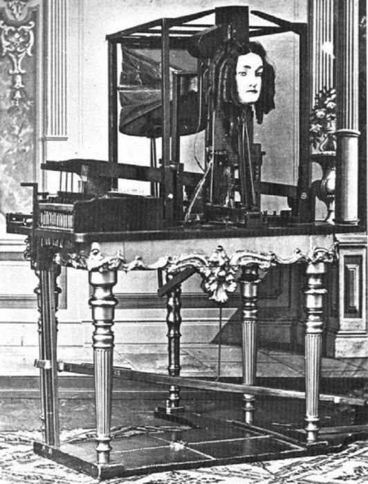 Автоматон создан немецким иммигрантом Джозефом Фабером в 1845 году.