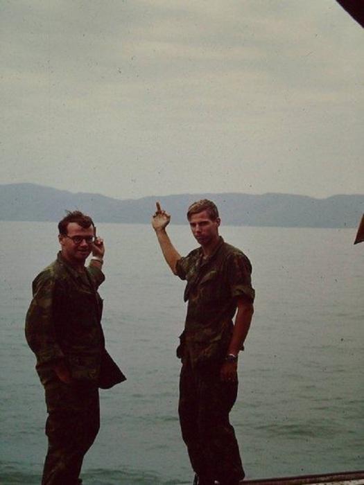 Американские солдаты покидают Вьетнам, 1970 год.