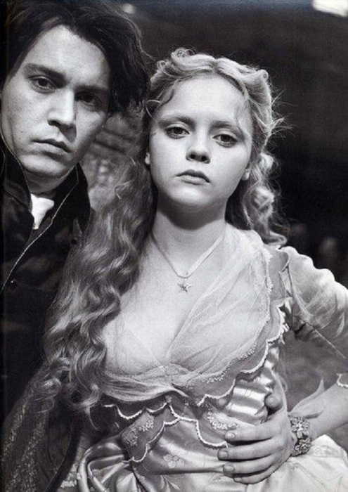 Фотография со съемок кинокартины «Сонная лощина», 1999 год.