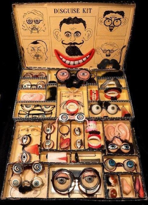 Набор для клоуна или комика, 1920-е годы.