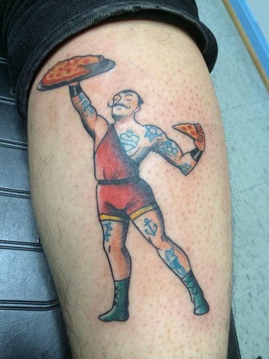 Татуировка - творческий процесс, требующий развитого воображения.