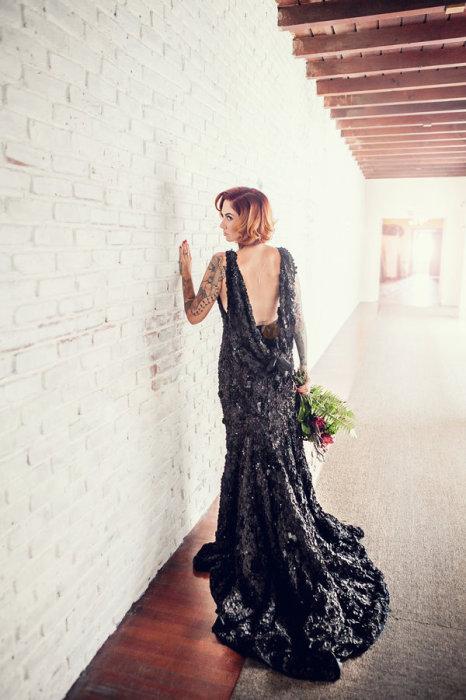 """Платье """"Черное золото"""""""